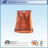 Agricultural plastic crate for vegetable and fruit