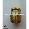High Quality Brassbest sell quick connect camlock couplings Type F