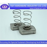 Spring washers manufacture