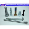Hex  bolt colored bolt ,standard hex bolt ISO9001