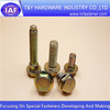 High quality,Hex flange bolts,zinc plated, brass bolts wholesale