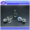 Zinc plated steel hex nuts,flange nuts ,all types of nuts