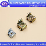 Special nuts, zinc slotted hex nuts China supplier