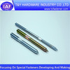 Special bolts,zinc plated,double ended screws,