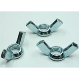 fastener manufacture,zinc plated wing nut with bolt