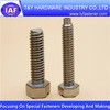 Slotted hex head bolts
