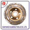 China High Quality Double Row Diamond Cup Wheels and Grinding Tools for Grinding and Polishing Stone Materials