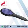 Factory Price Zero Damage Simply Straight Ceramic Brush Hair Straightener With Brush