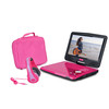 10 inch portable dvd player with carry bag and headphone from Sunpin