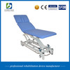 Haobro design durable massage medical treatment bed with breath electric and hydraulic control