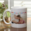 Magic 11oz White  Ceramic Coffee Image Mug color change mug