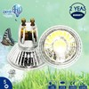 High Quality Glass 5W COB GU10 Led Spotlight with Dimmable