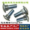 Carriage Bolt DIN603 Round Head Square Neck Bolt Maufactory