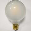 led bulb frosted glass globe G95 6W led filament bulb