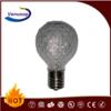 colorful led bulb G30 christmas light e14 0.8w 110/130v ce rohs