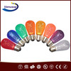S14 holiday lighting decorative 0.5W led chrismas light bulb