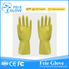 women wearing rubber glove