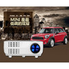 2016 Newest 480*320 mini led projector with CE ROHS FCC BIS