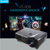 Wholesale! Led projector 800*480 with 2000lumens Full HD Video USB HDMI TV 1080P