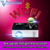 1500 lumnes mini  projector with wifi android and bluetooth