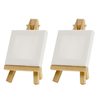 Wholesale professional kids children pine wooden mini painting easel