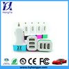 3 port usb car charger for iphone 6 car charger usb, 5v 5.2a 3usb car charger, 3 ports mini usb hub