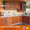 Cuseomized PVC Wood grain classical style cupboard
