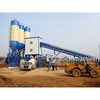 HZS60 stationary concrete batching plant for sale
