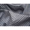 Shirting striped linen cotton yarn dyed fabric in bulk