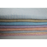 soft feeling washed yarn dyed linen fabric