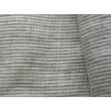 2016 new design China supplier linen fabric with small stripe design