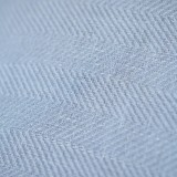 herringbone 100%  linen fabric