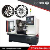 Diamond Cutting Machine Alloy Wheel Repair CNC Lathe AWR28H