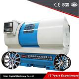 Wheel CNC Lathe Rim Repair Machine AWR3050