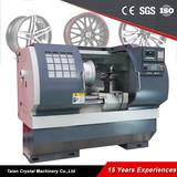 Chinese Alloy Wheel Repair CNC Lathe Machine with Probe AWR2840