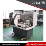 220V-240V High Precision Horizontal CNC Lathes CK6132A