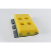 Polyurethane track shoe for milling machine