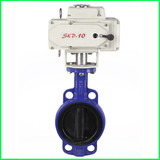Motor flange soft sealing butterfly valve for drinking water