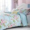 Canterbury Blue Printed Bedding - Matching Items Available