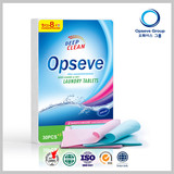 OEM Laundry detergent tablets Environmental protection product for washing clothes