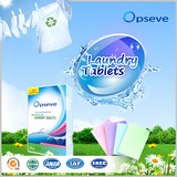 Laundry Tablets in Detergents