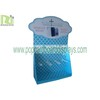 Fashion Blue Customzied Cardboard Counter Displays with Hooks for Mobile Accessories