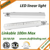 ETL DLC listed dimmable linkable led linear light