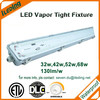 DLC Approved IP65 lights with 5 years warranty led tri-proof lamp