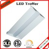 UL DLC LED Troffer 2x2 2x4 led indoor indirect light fixture