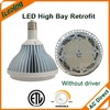 DLC list pendant industrial high bay led light by pass for US