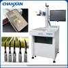 fiber metal plastic laser marking machine