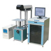 co2 glass tube fabric laser marking machine