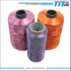 High tenacity 100% spun polyester rayon embroidery thread for sewing machine