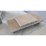 stone honeycomb panel for wall cladding